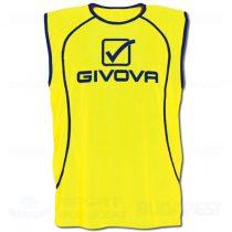 GIVOVA CASACCA FLUO SPONSOR megkülönböztető trikó - UV sárga [L/XL]