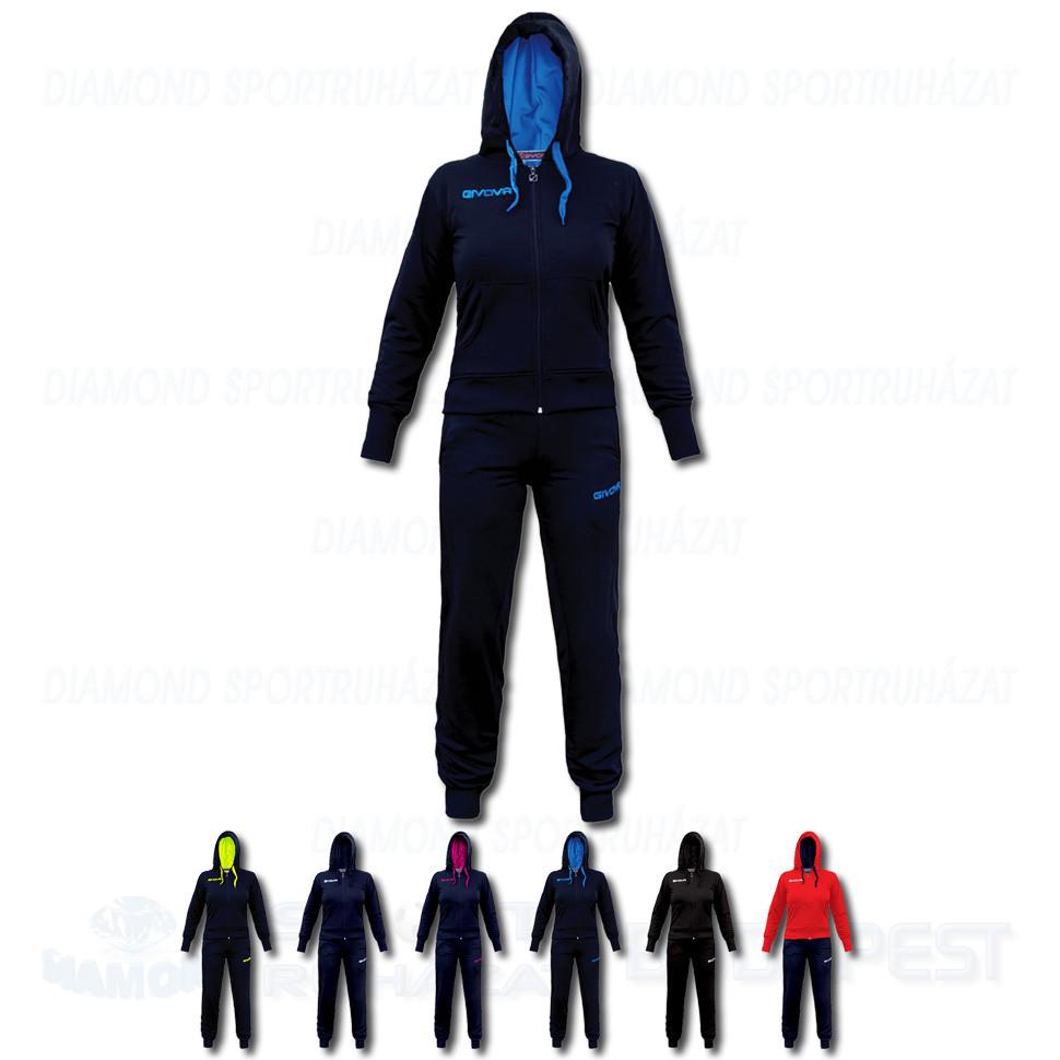 1aa10331bf GIVOVA TUTA LADY KIT női kapucnis-cipzáras szabadidő melegítő felső + nadrág  KIT - KOLLEKCIÓ