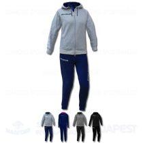 GIVOVA DONNA KIT női kapucnis-cipzáras pamut szabadidő melegítő felső + nadrág KIT - KOLLEKCIÓ