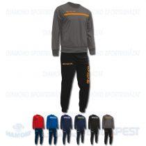 GIVOVA TUTA ONE TRAINING KIT belebújós edző- és szabadidő melegítő felső + nadrág KIT - KOLLEKCIÓ